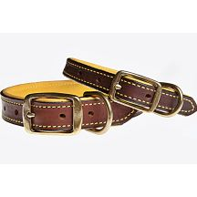 Bison And Elk Leather Dog Collars